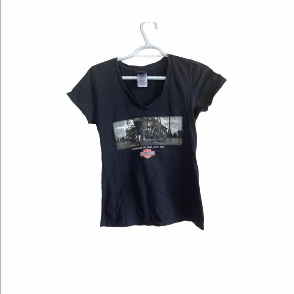 Harley Davidson Women's V neck tshirt